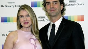 """American Horror Story""-Star Lily Rabe und Schauspieler Hamish Linklater"