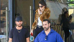Scott Disick, Kendall Jenner und Kendalls Bodyguard beim Shoppen