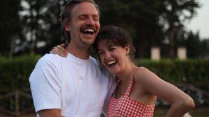 So glücklich sind schwangere Marie Nasemann und ihr Mann