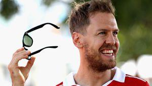 Sebastian Vettel vor dem ersten Formel-1-Rennen in Australien 2017