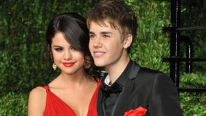 Selena Gomez und Justin Bieber bei der Oscar-Verleihung 2011