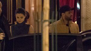 Selena Gomez und ihr Freund The Weeknd in Paris