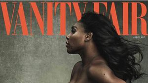 Serena Williams auf dem Cover der Vanity Fair, erschienen Juni 2017