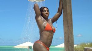 Serena Williams beim Shooting für Sport's Illustrated Swimsuit