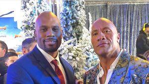 Dwayne Johnson trauert um verstorbenen Shad Gaspard