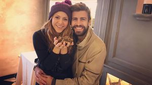 Seltener Anblick: Piqué postet Pärchen-Selfies mit Shakira!
