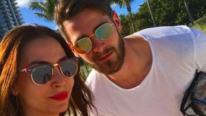 Sila Sahin und Samuel Radlinger im Miami-Urlaub 2016