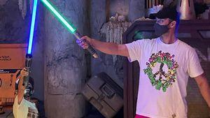 Justin Timberlake und Sohn Silas machen Disneyland-Ausflug