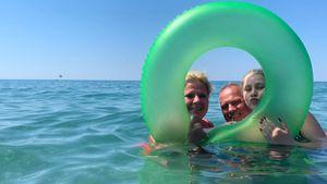 Ein Jahr nach Herzinfarkt: Wollny-Schwestern danken Harald!