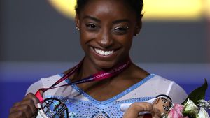 Olympionikin Simone Biles ist beste Turnerin aller Zeiten!