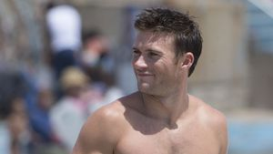 Scott Eastwood am Bondi Beach, Sydney