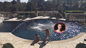 Sofia Richie, Bronte Blampied und Justin Bieber