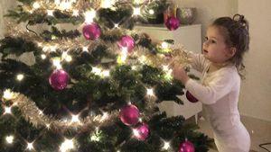 Süße Mama: Für Sophia lässt die Katze das Christkind kommen