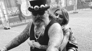 Sophia Thomalla und Rocker Freddy aus Berlin