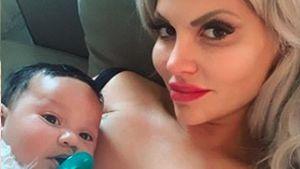 Mama Sophia Vegas stolz: Baby Amanda schläft schon durch!
