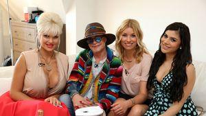 """Sophia Wollersheim, Barbara Engel, Annica Hansen und Tanja Tischewisch bei """"Promi Shopping Queen"""""""