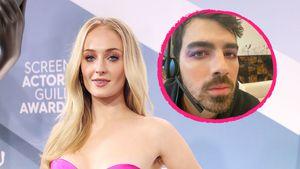 Langeweile daheim: Sophie Turner schminkt ihren Joe Jonas!