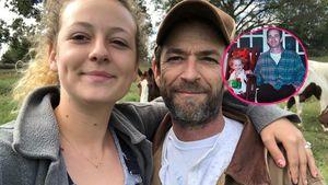 Rührend: Tochter von Luke Perry (†) teilt Throwback-Bilder