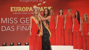 Soraya Kohlmann und Lena Bröder bei der Miss-Germany-Wahl 2017