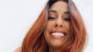 Herbst-Look: Sängerin Stacey Solomon hat jetzt rote Haare