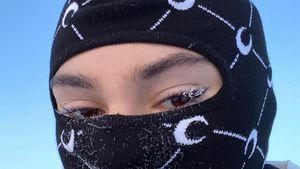 Bei minus 25 Grad: Steffi Giesinger frieren die Wimpern ein