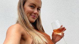 Wein trotz Schwangerschaft: Steph Claire Smith bekommt Hate