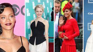 Herzogin Kate, Miley Cyrus, Jessica Alba, Rihanna, Jessica Biel, Kristen Stewart und Emma Stone