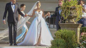 Verspielter Traum in Weiß: So kommt Sylvies Brautkleid an!