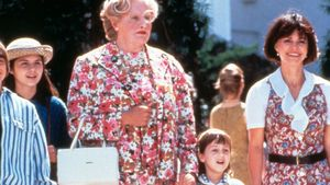 Robin Williams, Mara Wilson und Sally Field
