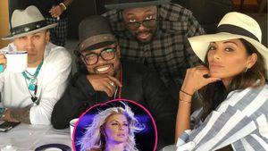 Taboo, apl.de.ap und Will.i.am von den Black Eyed Peas mit Nicole Scherzinger und Fergie