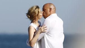 Nicht mit seiner Frau: Vin Diesels heiße Küsse am Film-Set!