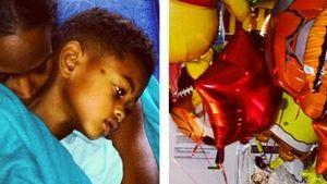 Zu persönlich? Ushers Ex zeigt Sohn im Krankenhaus