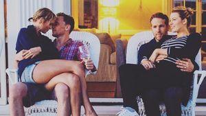 Taylor Swift, Tom Hiddleston, Blake Lively und Ryan Reynolds am Unabhängigkeitstag 2016