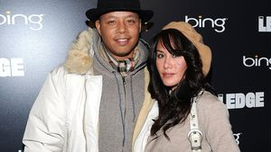 Terrence Howard und Michelle Ghent 2011 in Utah
