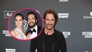 Größere Familie: Thomas Hayo freut sich für Heidi & Tom