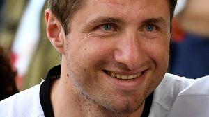 Thomas Müllers Bruder Simon beim EM-Viertelfinale Deutschland gegen Italien
