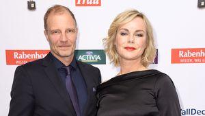 """Thorsten Nindel und Saskia Valencia bei den """"Goldene Bild der Frau Awards"""" 2016"""