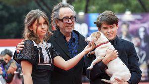 """""""Batman""""-Regisseur Tim Burton: Seltener Auftritt mit Kids!"""