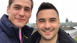 """Schwules Paar: """"Unter uns""""-Stars von Support überwältigt!"""