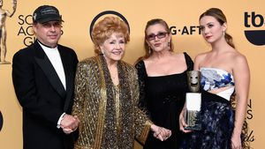 Todd Fisher, Debbie Reynolds, Carrie Fisher und Billie Lourd