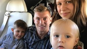 Zum ersten Mal: Toni Kroos zeigt seine süße Tochter (1)!