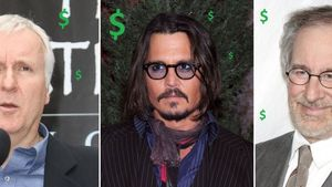 Johnny Depp, Steven Spielberg und James Cameron