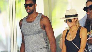 Tristan Thompson und Khloe Kardashian in Bal Habor