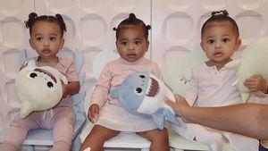 Drillinge? Kardashian-Jenners zeigen ihre drei Baby-Girls
