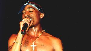Rapper Tupac