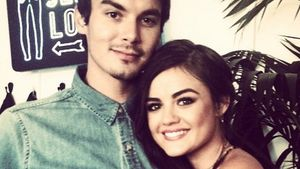 Lucy Hale und Tyler Blackburn