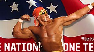 Fußball-Fan! Hulk Hogan will Deutschland zerstören