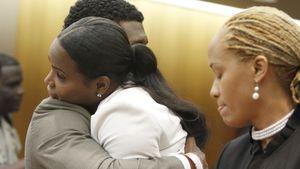 Frieden vor Gericht? Usher umarmt seine Ex