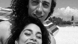 Mit Blume im Haar: Vanessa Hudgens teilt süßes Couple-Pic