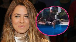 Mit Gesicht auf Beckenrand: Pool-Unfall bei Vanessa Mai